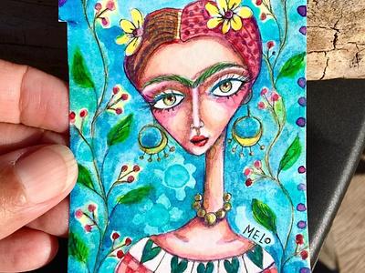 eBay auctions continue fridakahlo portrait paintings meloearth