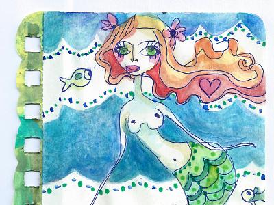 mermaid nude paint 600 scan