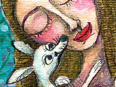 Girl and Dog #4