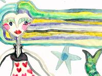 Mermaid Longhairc