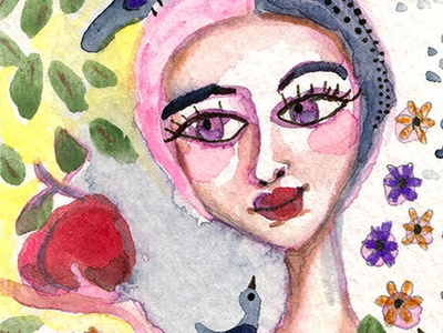 Woman Apple ebay