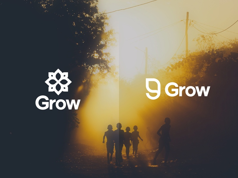 Grow Logo Concepts branding concept grow branding design branding logo