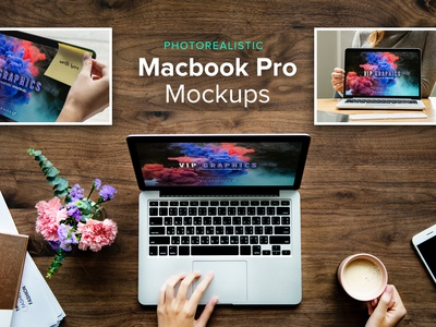 FREEBIE: Macbook Pro Mockups