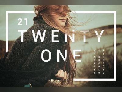 Twenty One | Vintage & Retro Color Effects