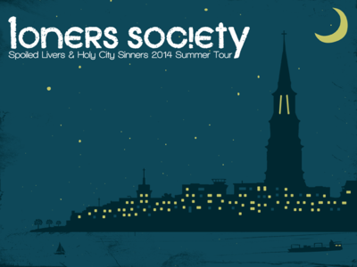 Loners Society Summer Tour Postcard