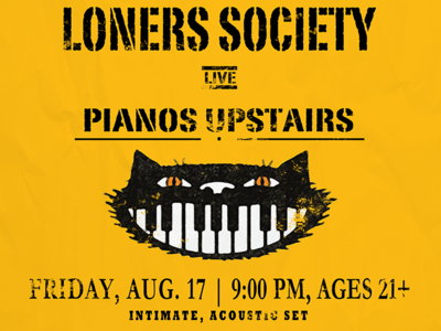 Loners Society New York Tour Card