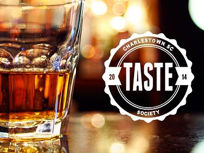 Taste Brand Logo bourbon design logo branding whiskey taste