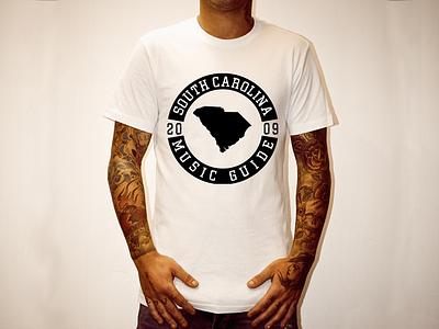 South Carolina Music Guide Shirt south carolina shirt music logo print apparel tee t-shirt