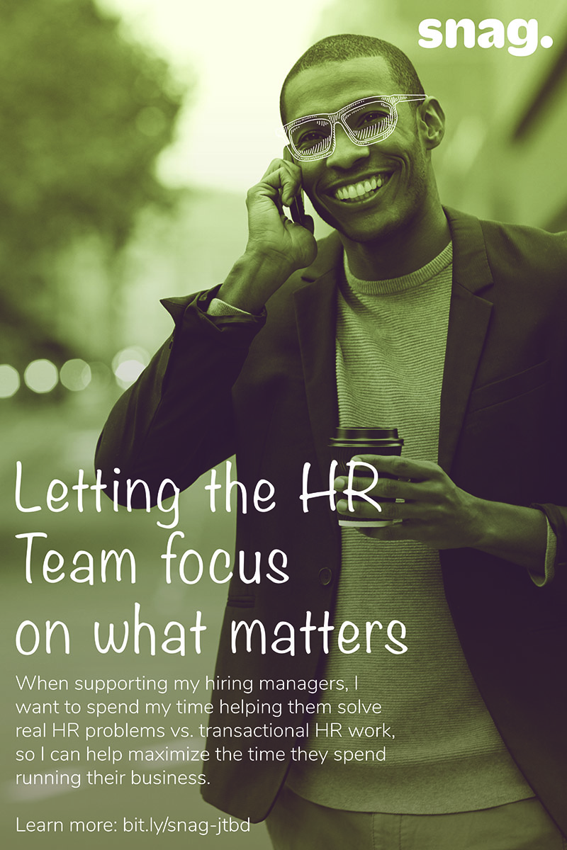 Letting the hr team focus on what matters