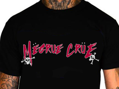 Megrue Crue Tee design t-shirt tee apparel motley crue matt megrue music