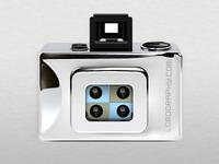 LOMO silver action sampler camera