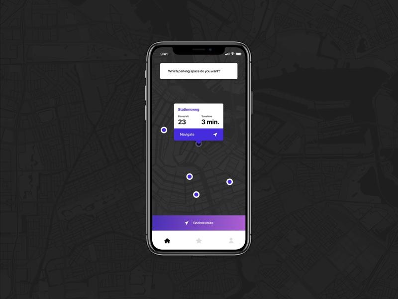 City Parking App user experience user interface app ui parking app ux ui