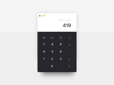 Simple Calculator App — Playground 002