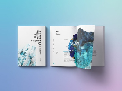 The One This You're Not Suppose To Do 3d art graphic art type book design layoutdesign layout typography book print design
