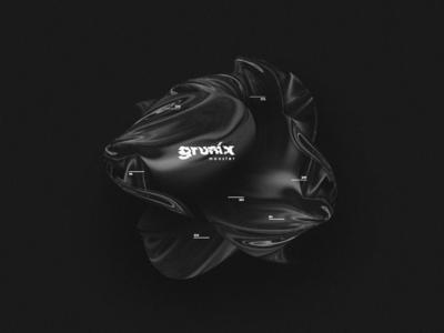 Grunix 3D Art motion animation motion art motion 3d art illustration typography graphic art design