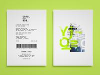 Senior Thesis Show Card
