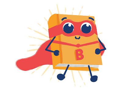 Superbook kids education hero cute book