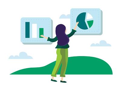 Management management analytics chart analytics marketing working
