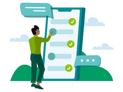 Analytics Part 3 checklist analytic business phone