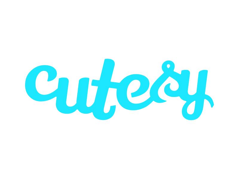 Cutesy Wordmark logo