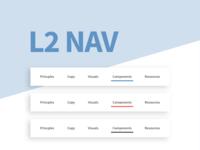 Secondary navigation