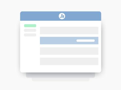 Minified UI