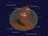 Chewbacca In Space