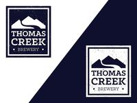 Thomas Creek brewery logo update