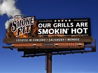 The Smoke Pit - Billboard / Online Campaign