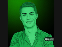 Cristiano Ronaldo - Portrait Series