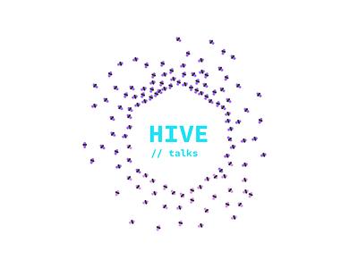 Hive talks logo talk conference meetup bees hive
