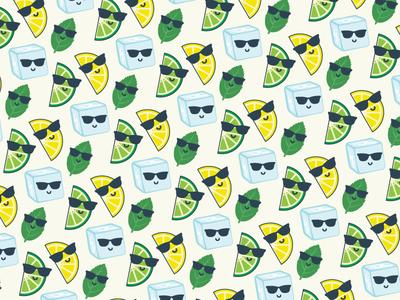 Mojito Mondays mondays mojito mint lime lemon ice cube