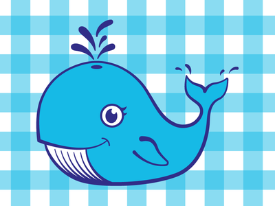 Willy gingham whale