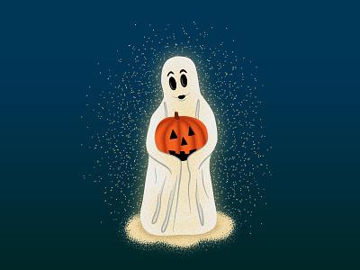 Trick or Treat vector photoshop graphic design decoration design trick or treat texture illustration spooky pumpkin ghost happy halloween halloween