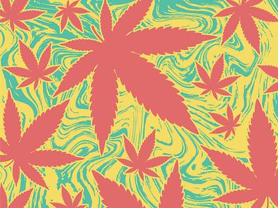 Cannabis Pattern 420 graphic design illustrator design illustration background pattern marijuana weed cannabis
