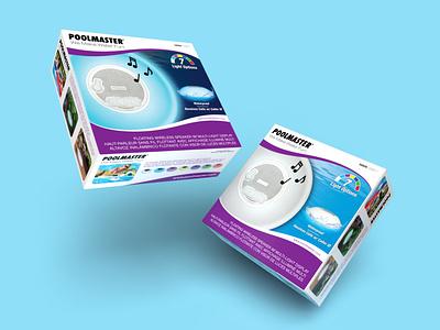 Bluetooth Speaker Packaging layout design adobe tech logo branding dimensions photoshop illustrator render packaging packaging design tech bluetooth