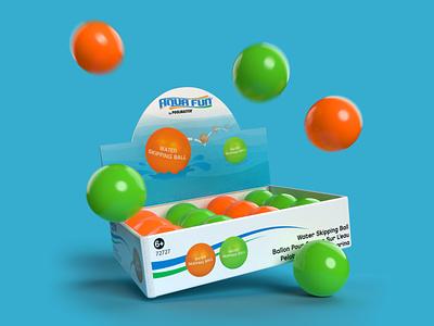 Skipping Balls vector 3d 3d art graphic design logo design adobe illustrator photoshop dimensions adobe motion blur fun packagingdesign packaging render