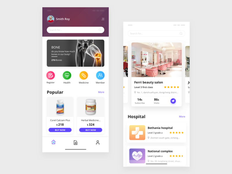 Medical App apps design medicine app mobile application design colors userinterfacedesign ui daily medical care hospital clean app design minimal design pakistan ui desgin ui  ux app ui design application design app concept medical app app design mobile app design
