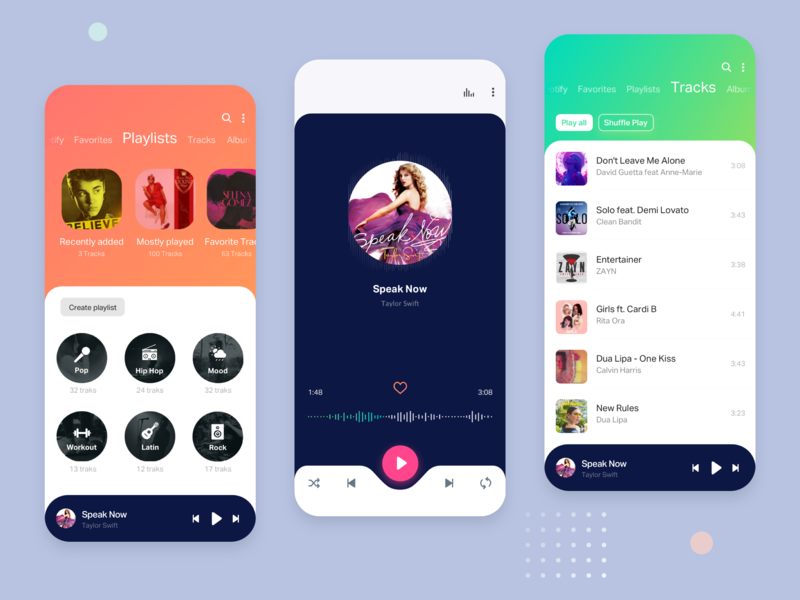 Music App songs spotify mp3 player music player pakistan ui typography player music minimal interactive design clean app music app mobile mobile application mobile apps mobile app design mobile app