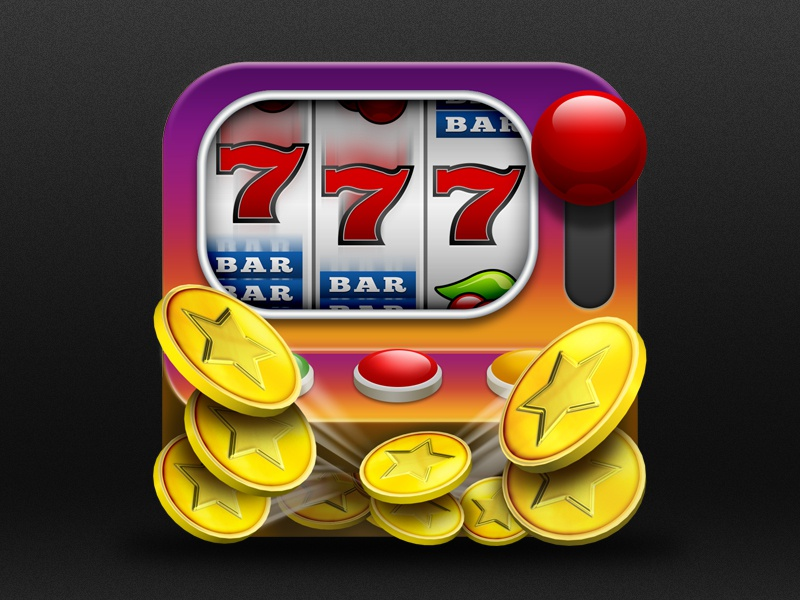 Slotscircus Icon icon app game slots android ios mobile ui ux