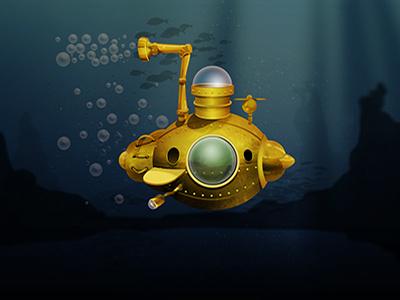Steampunk  Sub deep sea sea under the sea punk steam ios android mobile game subs submarine steampunk