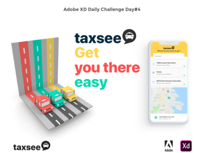 Taxsee Apps voxels voxelart ui ux fun taxi apps adobexd