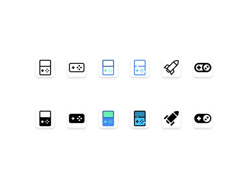 Shape.so- Game Icon icons pack icons icon design vector shape shape.so design games logo illustration logo iconography icon set icon games game