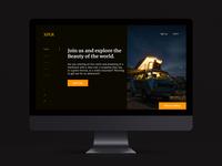 XPLR homepage