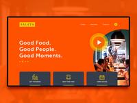 Salata homepage