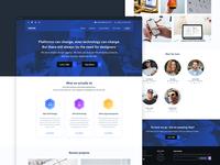 Skrign homepage