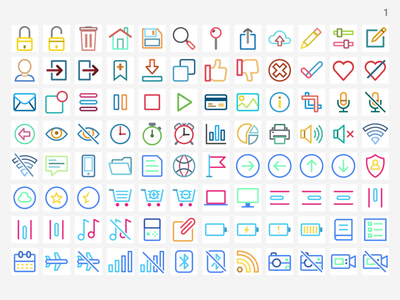 Shape.so- Icons with 14 styles icon set iconography icon design icons pack icons set iconset shap.so shape icons icon