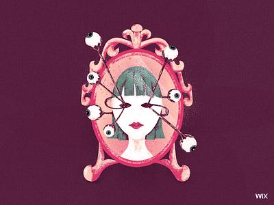 Who's the fairest of them all? wix design team wix design illustration