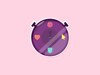 Dribbble Watch