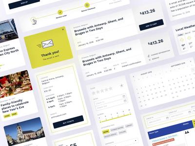 UI Interactions | Travel Portal
